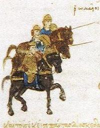 Bizantinos atacondo PerseV