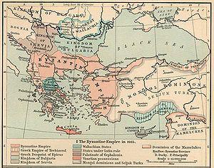 El Imperio hacia 1265.